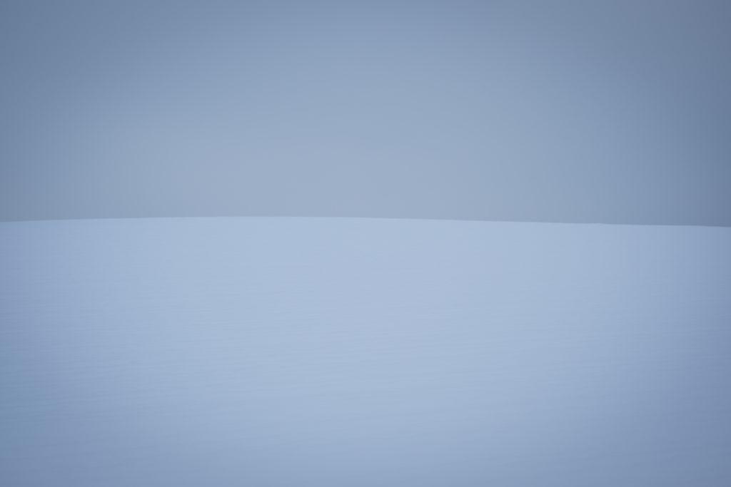 Schnee und Himmel